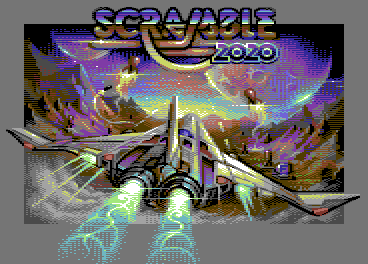 Scramble 2020 (commodore 64)/pixelart