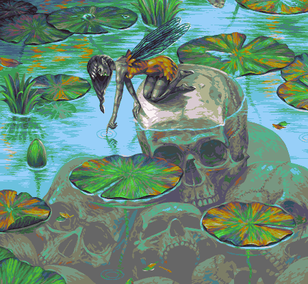 Skull Pixie/pixelart