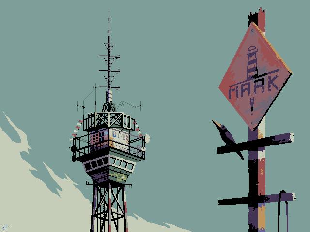 Sky Route/pixelart
