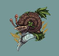 snail knight/pixelart