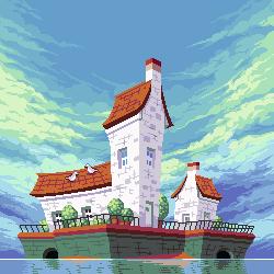 Town Escaper/pixelart
