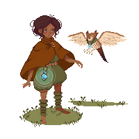 Girl and her Owl