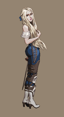 Vagrant Fencer/pixelart