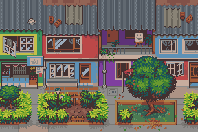 Lovely place <3/pixelart