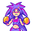 HILARY - la medusa icon/pixelart