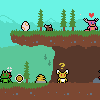 Idle Monster Farm icon/pixelart