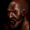 Kratos icon/pixelart