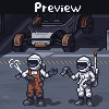 Moon Garage icon/pixelart