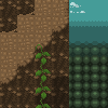 Mountain Tileset (16x16) icon/pixelart