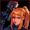 Metroid Illustration/pixelart