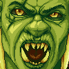 Orc Portrait icon/pixelart