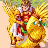 Ovelia and Delita - Final Fantasy Tactics/pixelart