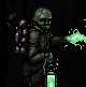 Burned alive icon/pixelart