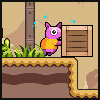Squishy the Suicidal Pig icon/pixelart