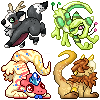 Icons batch icon/pixelart