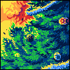 Stage Bomber icon/pixelart