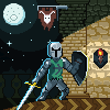 Warrior icon/pixelart