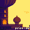 Arabian Late Afternoons icon/pixelart