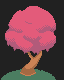 Cherry Blossom icon/pixelart