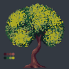 Strong Tree Remade icon/pixelart