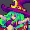 Witch 00?? icon/pixelart