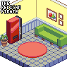 Waiting Room icon/pixelart