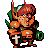 Power Suit Link icon/pixelart